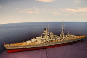 DKM Kreuzer Prinz Eugen (1:100)